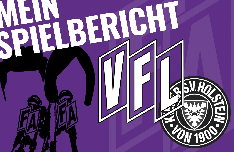 Mein Spielbericht: VfL Osnabrück – Holstein Kiel 1:3 [RD/MB]