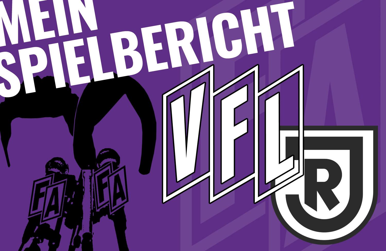 Mein Spielbericht: VfL Osnabrück – Jahn Regensburg 0:1 [MiQ]