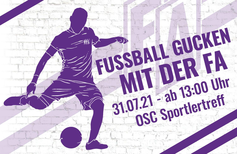 Fußball gucken mit der FA – Erstes Spiel der Saison: Saarbrücken