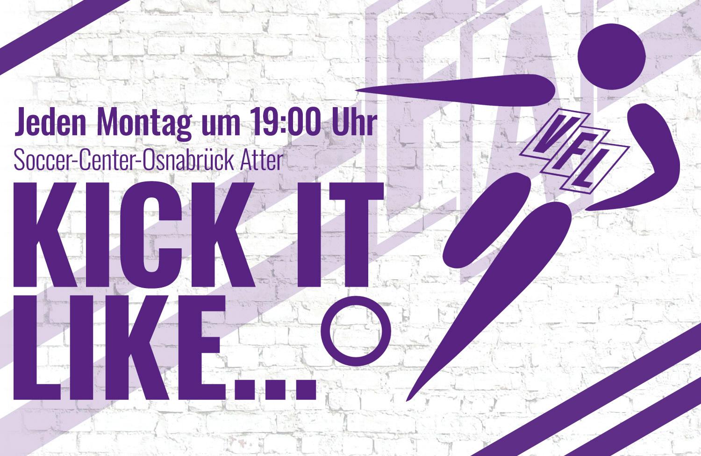 Alle Termine: Jeden Montag Fußball im VfL – Kick it like…